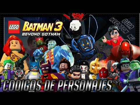 Lego batman 3 m s all de gotham c digos y trucos youtube for Codigos de lego batman