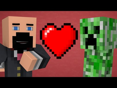 If Notch Married A Creeper Minecraft