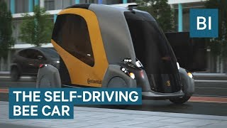 This Autonomous Car Moves Like A Swarm Of Bees