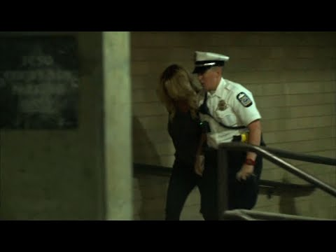 Raw: Stormy Daniels Brought Into Ohio Jail
