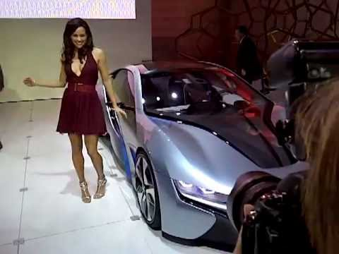 Paula patton mission impossible car scene