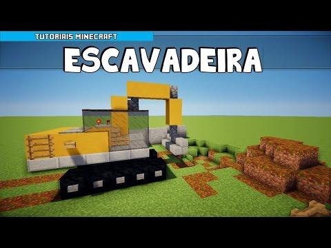 Tutoriais Minecraft: Como Construir uma Escavadeira