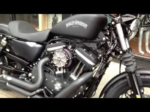 2014 HARLEY DAVIDSON SPORTSTER IRON KEYLESS IGNITION STAGE ONE West Coast H D Glasgow Scotland