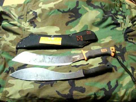 Bear Grylls Parang Machete Review and Field Use - Part 1 of 2