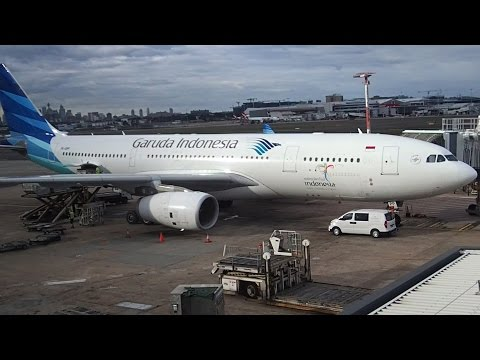 Flight Review Garuda Indonesia A330-200 Sydney to Jakarta Business Class