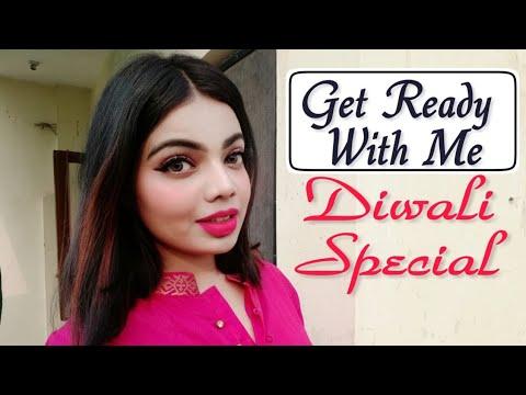 GRWM || Diwali Special ||