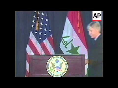 WRAP Al-Maliki orders halt to construction of wall, US amb.; ADDS voxpops, demo