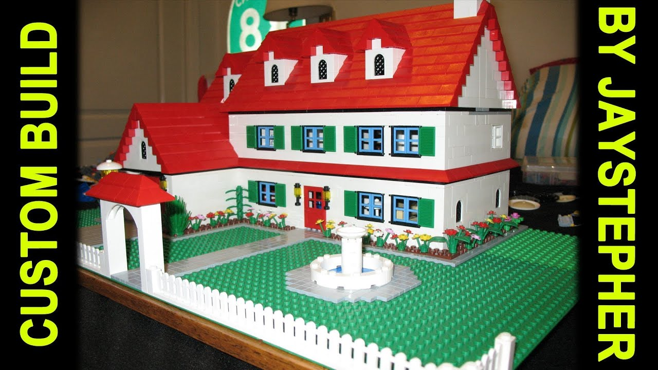 Custom build 3 bedroom 2 bath lego home youtube for Custom build your home