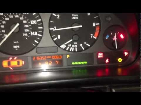 HOW TO RESET YOUR OIL SERVICE LIGHT 97-03 BMW 5 Series E39 528i E46 E36 E38 M5
