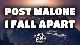 Download Lagu Post Malone - I Fall Apart (Lyrics / Lyric Video) Gratis STAFABAND