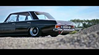 Mercedes W115 with BBS Wheels