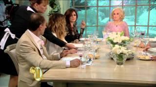 Almorzando con Mirtha Legrand 2014 - Isabel Macedo confiesa: