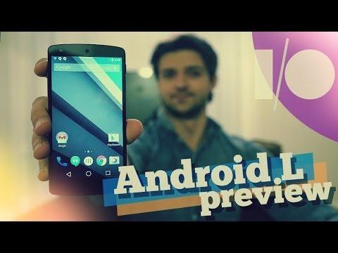 Первый обзор Android L от Droider.ru