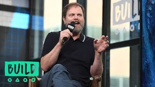 Rainn Wilson On Working With Jason Statham