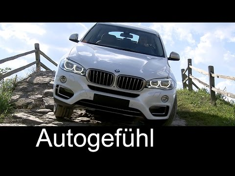 2015 All-new BMW X6 xDrive50i & X6 M50d onroad offroad parcours interior exterior