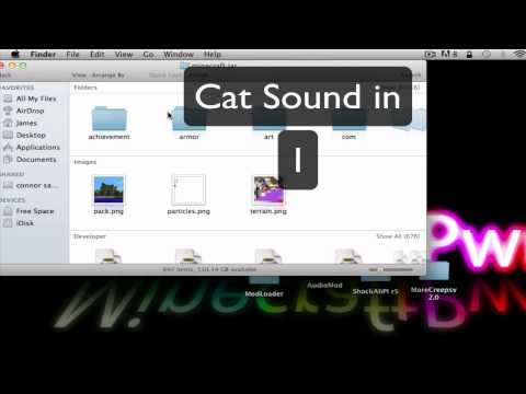 How To Install Minecraft MoreCreeps And Weirdos Mod (Mac Lion and snow leopard)