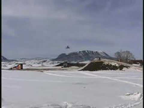 263 ft World Record snowmobile jump