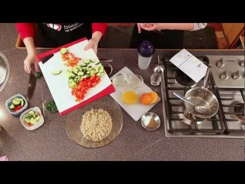 Mango Quinoa Salad -Heart and Stroke Quick and Healthy Recipes 2012