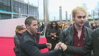 Radio 1 Teen Awards: Nick Jonas