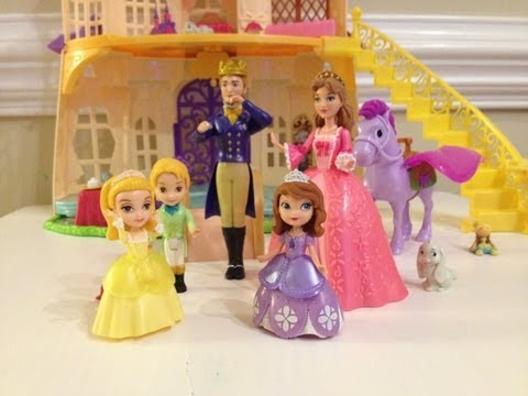 Sofia the First Sofia's Royal Family Unboxing and Review