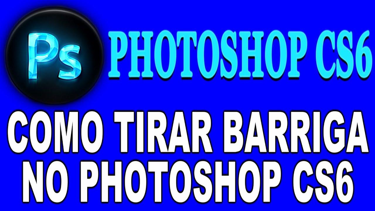 Como Eliminar Barriga no Photoshop - YouTube