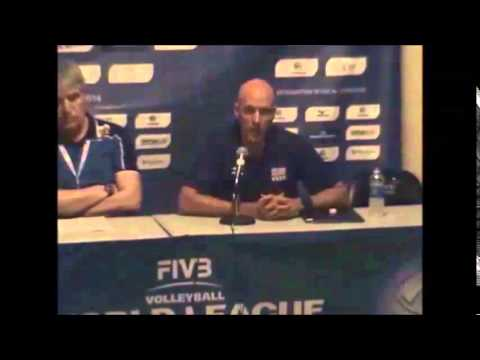 2014 World League USA vs. BUL FRIDAY June 20, 2014 Press Conference