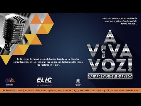A viva voz ! 94 años de Radio en Argentina