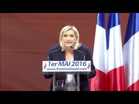 1er mai 2016 : discours de Marine Le Pen