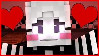 """FNAF World Five Nights in Anime - """"ANIME NIGHTMARE PUPPET LOVE"""" (Minecraft Roleplay) Night 62"""