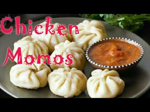 Chicken Momos Recipe || चिकन मोमोज बनाने का आसान तरीका