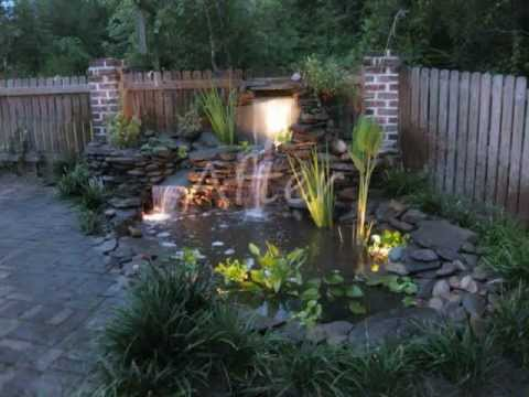 Before And After Of Fish Pond With Waterfall By Creative