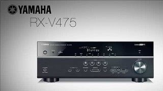 Yamaha RX-V475 Receiver - Unboxing and First Look