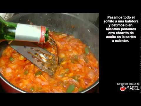 Calamares en salsa - La web de cocina de Mabel