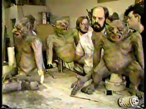 John Buechler Troll designs & Early Monster Man Cleve Hall Appearance