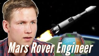Real Mars Rover Engineer Builds A Mars Rover In Kerbal Space Program • Pro Play