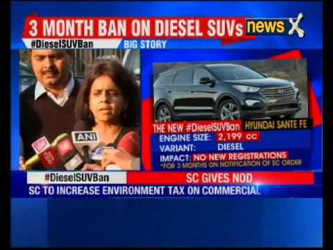 Supreme court agrees to ban diesel cars over 2000cc in Delhi