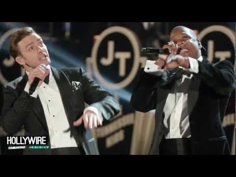 Justin Timberlake Grammy Performance 2013 -- Suit & Tie Ft. Jay-Z!
