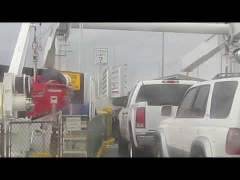 PISSED OFF FERRY ATTENDANT, beer, dolphin and starbucks sleep - 420 DAY US ROAD TRIP VID89