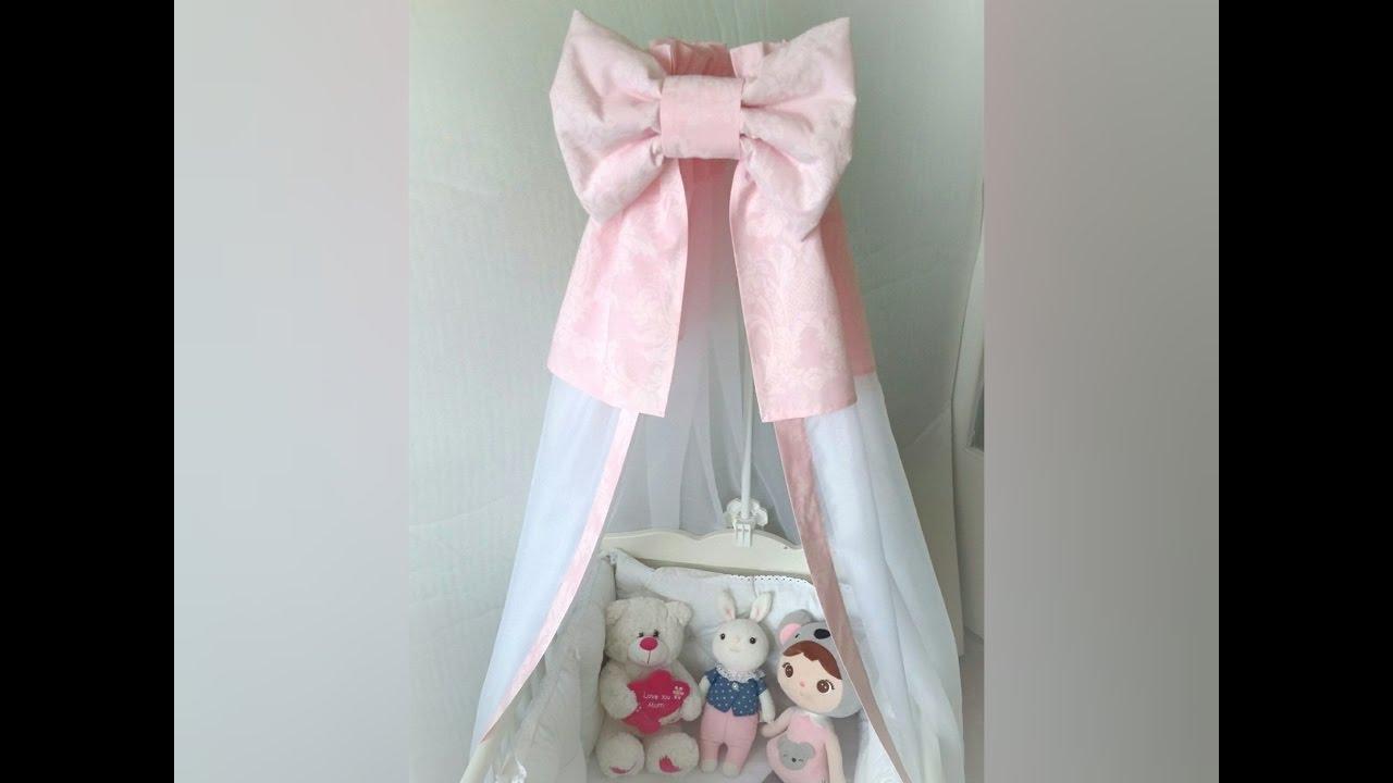 Балдахин на детскую кроватку своими руками пошагово с фото 52