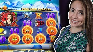 Wow! Handpay JACKPOT using Freeplay on Ultimate Fire Link Slot Machine!