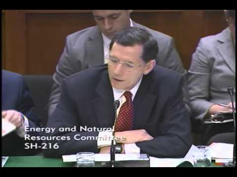 Senator Barrasso Delivers an Opening Statement at an ENR Committee Forum