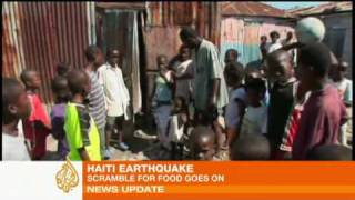 Haiti Earthquake Survivors Scavenge For Food