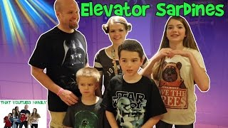 Crazy Elevator Sardines - Hide and Seek / That YouTub3 Family