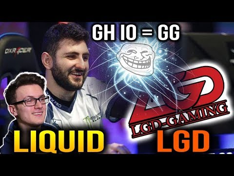 LIQUID VS LGD - DISASTER GH IO Auto GG Dota 2