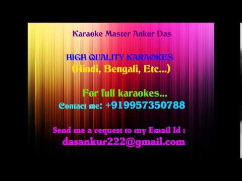 Thode badmash ho tum Karaoke Saawariya By Ankur Das 09957350788...