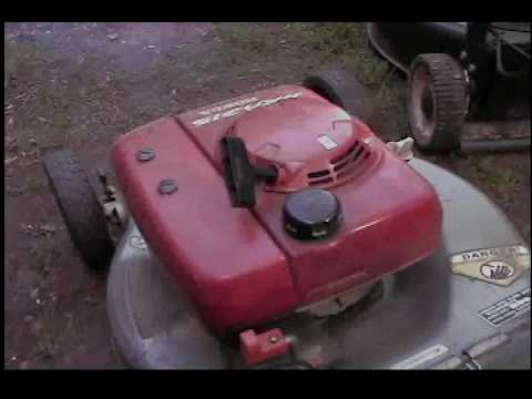 The 1995 Honda HRA215 Self Propelled Lawn Mower - YouTube