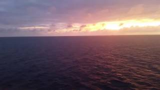 Sunset aboard Disney Dream Cruise, Bahamas 12/27/2015