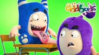 Oddbods | BACK TO SCHOOL | Funny Cartoons For Kids