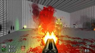 Brutal DooM - Brutal Rescue v1.1 FULL GAMEPLAY [DOOM 2 MOD - HD 720p]