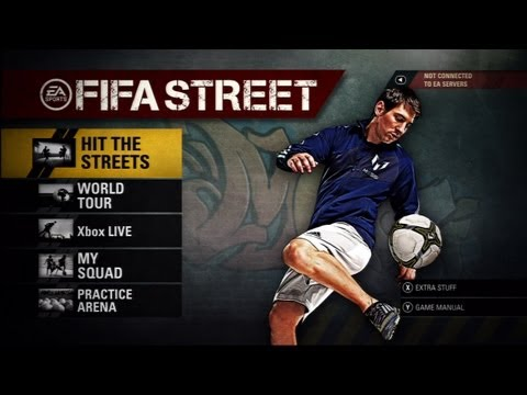 FIFA Street - Demo Walkthrough